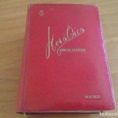 Libros de segunda mano: HERÁLDICA ESPAÑOLA GUIA DE SOCIEDAD. MADRID 1958. ENCUADERNADO EN PIEL. Lote 178879960