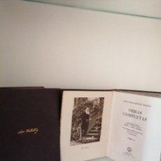 Libros de segunda mano: LEON TOLSTOI OBRAS COMPLETAS. Lote 178882493