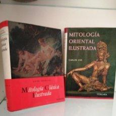 Libros de segunda mano: MITOLOGÍA CLÁSICA Y ORIENTAL ILUSTRADA. Lote 178884615