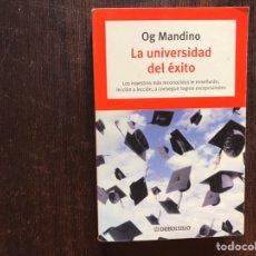 Libros de segunda mano: LA UNIVERSIDAD DEL ÉXITO. OG MANDINO. Lote 178916166