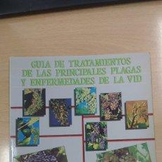 Libros de segunda mano: GUIA DE TRATAMIENTOS DE LAS PRINCIPALES PLAGAS Y ENFERMEDADES DE LA VID. 1986. Lote 178920056