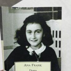Libros de segunda mano: ANA FRANK DIARIO. Lote 178924681