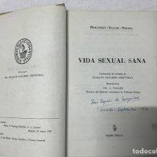 Libros de segunda mano: VIDA SEXUAL SANA. Lote 178928263