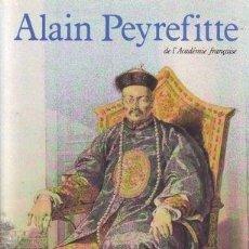 Libros de segunda mano: PEYREFITTE, ALAIN: L'EMPIRE IMMOBILE OU LE CHOC DES MONDES.. Lote 178935970
