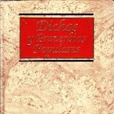 Libros de segunda mano: CULTURA Y LETRAS: DICHOS Y PROVERBIOS POPULARES. GONZALEZ, JOSE LUIS. LE-143. Lote 178945408