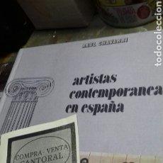 Libros de segunda mano: ARTISTAS CONTEMPORANEAS EN ESPAÑA. RAUL CHAVARRI.GAVAR. Lote 178953945