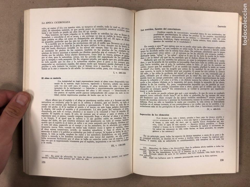 Libros de segunda mano: LITERATURA LATINA. JEAN BAYET. EDICIONES ARIEL 1972. COLECCIÓN CONVIVIUM N° 3. 567 PÁGINAS. - Foto 4 - 178955981