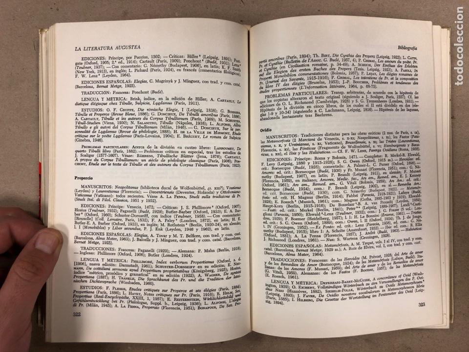 Libros de segunda mano: LITERATURA LATINA. JEAN BAYET. EDICIONES ARIEL 1972. COLECCIÓN CONVIVIUM N° 3. 567 PÁGINAS. - Foto 5 - 178955981