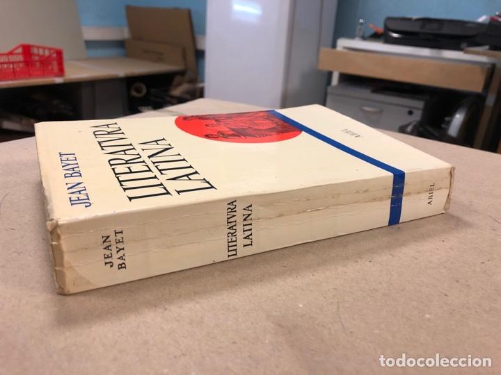 Libros de segunda mano: LITERATURA LATINA. JEAN BAYET. EDICIONES ARIEL 1972. COLECCIÓN CONVIVIUM N° 3. 567 PÁGINAS. - Foto 8 - 178955981