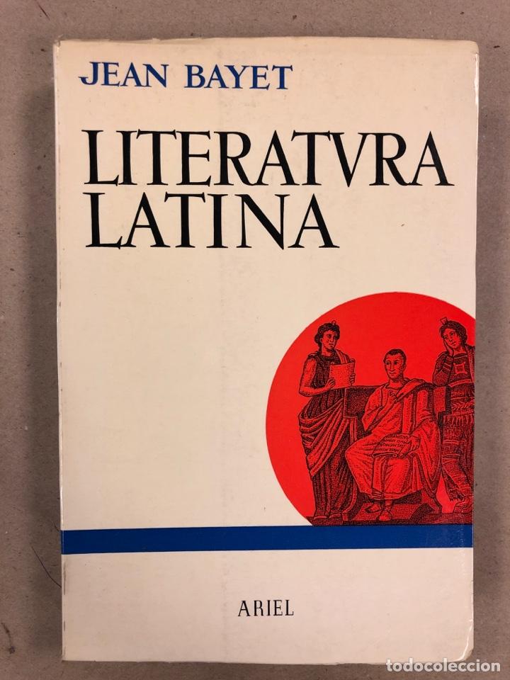 LITERATURA LATINA. JEAN BAYET. EDICIONES ARIEL 1972. COLECCIÓN CONVIVIUM N° 3. 567 PÁGINAS. (Libros de Segunda Mano (posteriores a 1936) - Literatura - Otros)