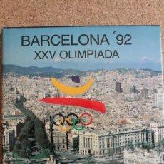 Libros de segunda mano: BARCELONA '92. XXV OLIMPIADA. DURÁNTEZ (CONRADO) NAVARRA, COMITÉ OLÍMPICO ESPAÑOL, 1988.. Lote 178961116