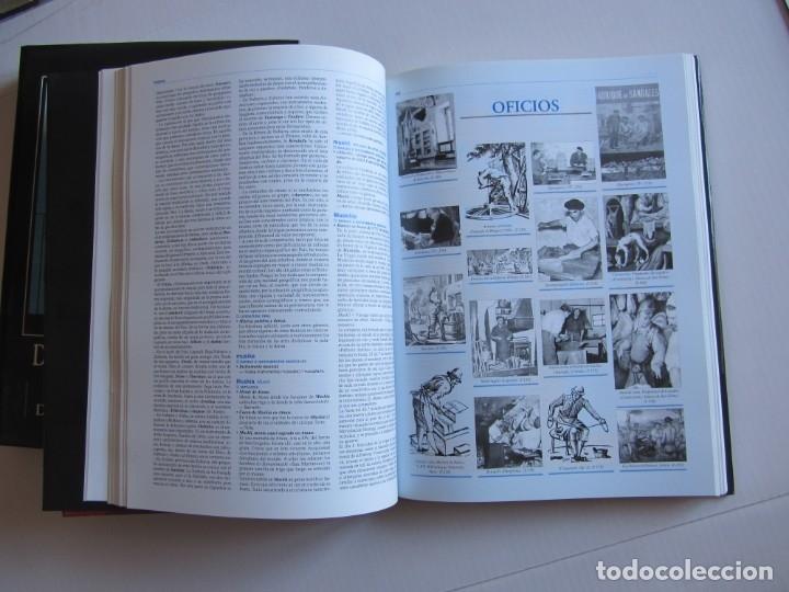 Libros de segunda mano: Diccionario de etnografia vasca. Cultura tradiiconal. Euskaldunak. Etor-Ostoa 1999 2 tomos. Completa - Foto 5 - 178965657