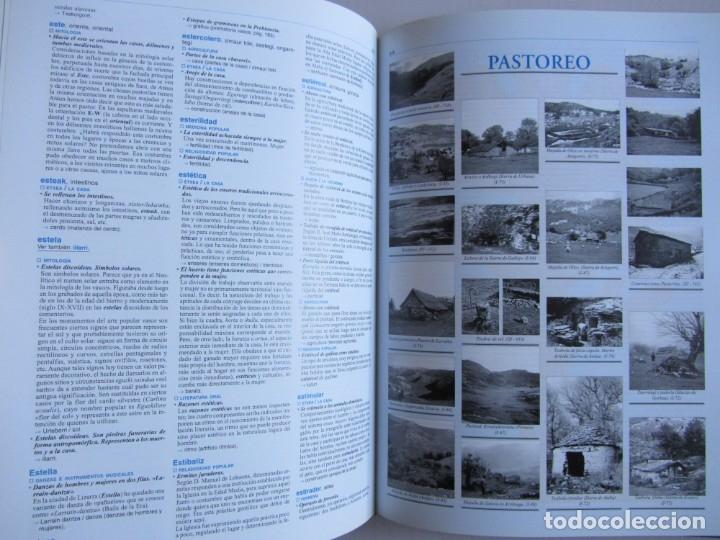 Libros de segunda mano: Diccionario de etnografia vasca. Cultura tradiiconal. Euskaldunak. Etor-Ostoa 1999 2 tomos. Completa - Foto 10 - 178965657