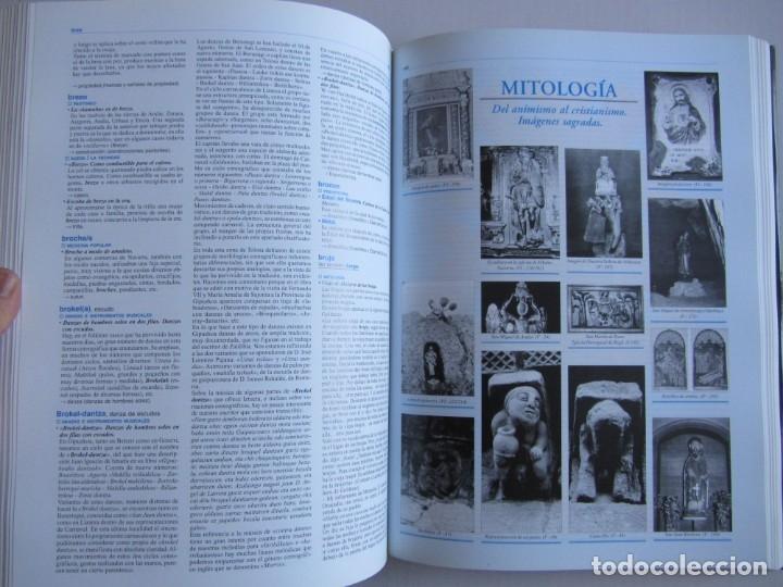 Libros de segunda mano: Diccionario de etnografia vasca. Cultura tradiiconal. Euskaldunak. Etor-Ostoa 1999 2 tomos. Completa - Foto 14 - 178965657