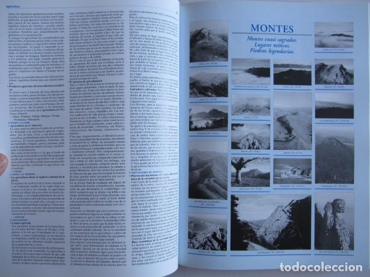 Libros de segunda mano: Diccionario de etnografia vasca. Cultura tradiiconal. Euskaldunak. Etor-Ostoa 1999 2 tomos. Completa - Foto 17 - 178965657