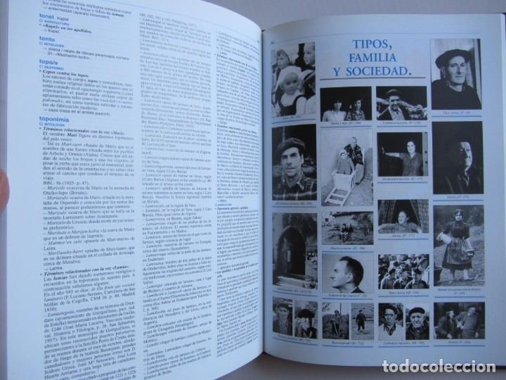 Libros de segunda mano: Diccionario de etnografia vasca. Cultura tradiiconal. Euskaldunak. Etor-Ostoa 1999 2 tomos. Completa - Foto 18 - 178965657