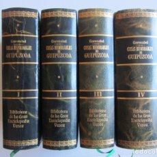 Libros de segunda mano: PABLO GOROSABEL.COSAS MEMORABLES DE GUIPUZCOA Y DICCIONARIO HISTORICO GEOGRAFICO DESCRIPTIVO. LUJO. Lote 178967025