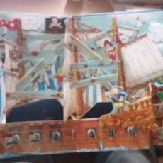 Libros de segunda mano: VIVE UNA AVENTURA. EL BARCO PIRATA 3D LIBRO EN VOLUMEN . Lote 178970461