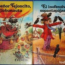 Libros de segunda mano: LOTE DE DOS LIBROS DE VALDEHELECHOS - 4 TÍTULOS - JOHN PATIENCE - EVEREST. Lote 168315292