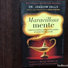 Libros de segunda mano: MARAVILLOSA MENTE. DR. JOAQUÍM VALLS. SUBRAYADOS.. Lote 178991712