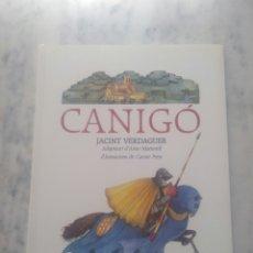 Libros de segunda mano: CANIGO. JACINT VERDAGUER.. Lote 178999421