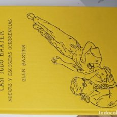 Libros de segunda mano: CASI TODO BAXTER. Lote 179014586