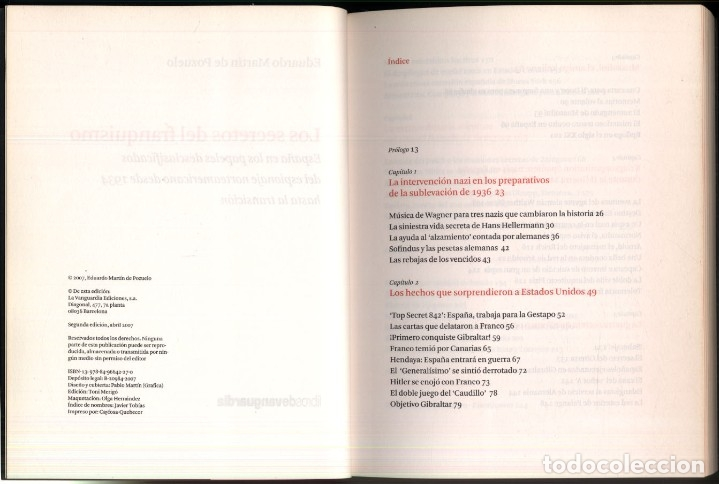Libros de segunda mano: LOS SECRETOS DEL FRANQUISMO .- Eduardo Martin de Pozuelo - Foto 3 - 179037253