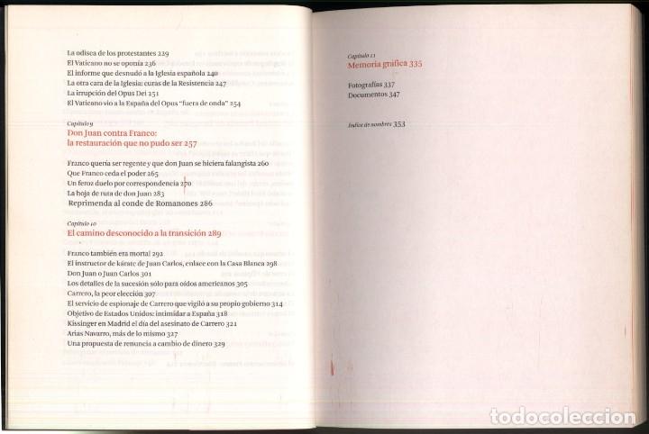 Libros de segunda mano: LOS SECRETOS DEL FRANQUISMO .- Eduardo Martin de Pozuelo - Foto 5 - 179037253
