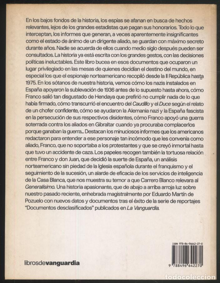 Libros de segunda mano: LOS SECRETOS DEL FRANQUISMO .- Eduardo Martin de Pozuelo - Foto 9 - 179037253