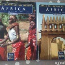 Libros de segunda mano: ATLAS CULTURALES DEL MUNDO , AFRICA ( 2 VOL.) FOLIO . Lote 179037256