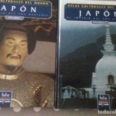 Libros de segunda mano: ATLAS CULTURALES DEL MUNDO , JAPON ( 2 VOL) FOLIO .. Lote 179038203