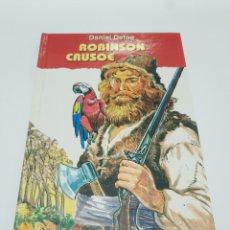 Libros de segunda mano: ROBINSON CRUSOE.- DANIEL DEFOE. Lote 179039337