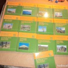 Libros de segunda mano: LOTE DE LIBROS DE RUTAS POR MONTAÑAS DE ASTURIAS. Lote 179045932