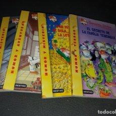 Libros de segunda mano: LOTE DE 4 LIBROS DE GERONIMO STILTON. Lote 179057187