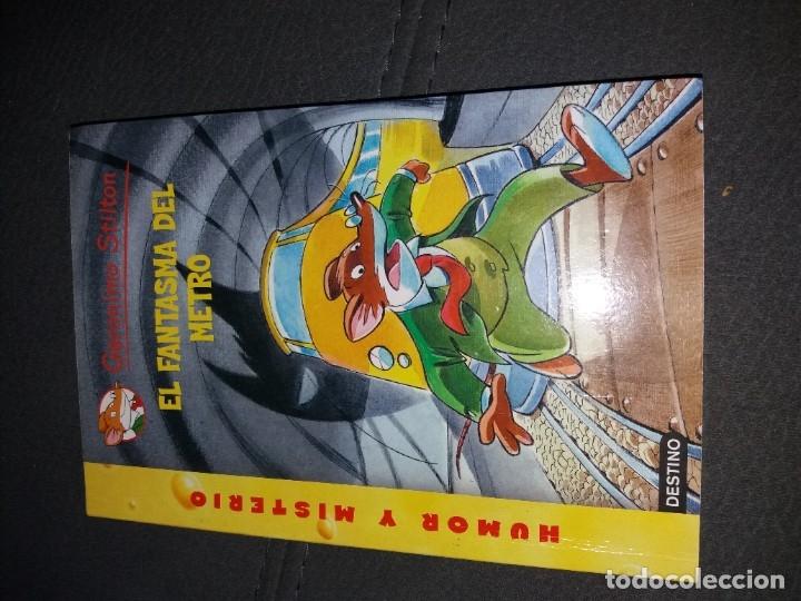 Libros de segunda mano: LOTE DE 4 LIBROS DE GERONIMO STILTON - Foto 2 - 179057187