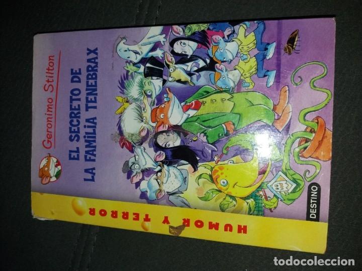 Libros de segunda mano: LOTE DE 4 LIBROS DE GERONIMO STILTON - Foto 3 - 179057187