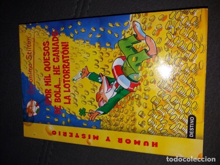 Libros de segunda mano: LOTE DE 4 LIBROS DE GERONIMO STILTON - Foto 4 - 179057187