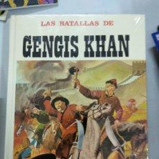 Libros de segunda mano: LAS BATALLAS DE GENGIS KHAN: LOS MONGOLES A LA CONQUISTA DEL MUNDO - NUEVO PRECINTADO. Lote 179072652