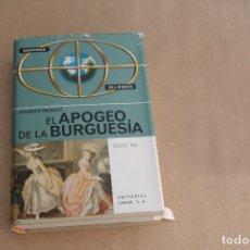 Libros de segunda mano: EL APOGEO DE LA BURGUESIA SIGLO XIX, DE CHARLES MORAZÉ, EDIORIAL LABOR. Lote 179074158