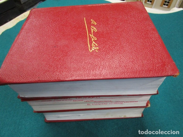 Libros de segunda mano: Perez Galdós Benito - Obras Completas. Novelas I/ II/III y Miscelánea 1970 edi Aguilar + info. - Foto 4 - 13814023