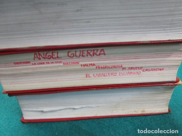 Libros de segunda mano: Perez Galdós Benito - Obras Completas. Novelas I/ II/III y Miscelánea 1970 edi Aguilar + info. - Foto 5 - 13814023