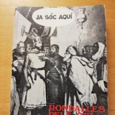 Libros de segunda mano: RONDALLES PELS QUI LES SABEN TOTES (PERE MOREY I SERVERA) EDITORIAL MOLL. Lote 179108501