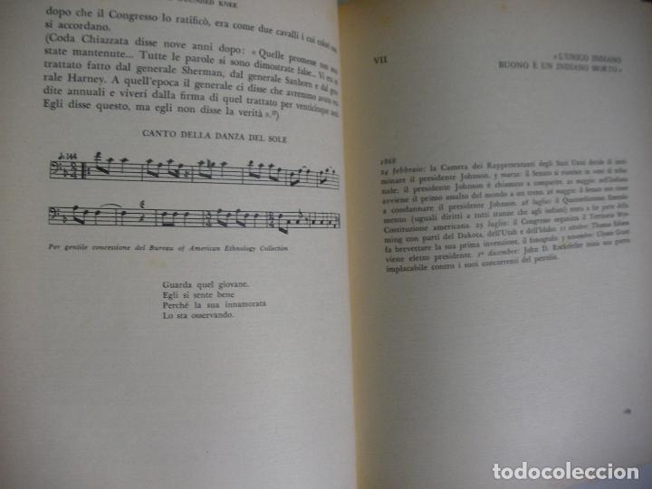 Libros de segunda mano: ENTERRAD MI CORAZON EN WOUNDED KNEE (EN ITALIANO) - DEE BROWN - HISTORIA DE LOS INDIOS AMERICANOS - Foto 3 - 179111156