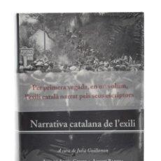 Libros de segunda mano: NARRATIVA CATALANA DE L'EXILI - GUILLAMON, JULIÀ (ED.). Lote 179127132