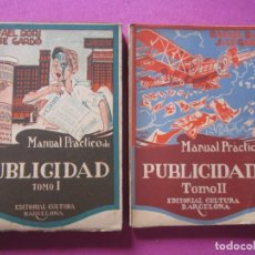 Libros de segunda mano: MANUAL PRACTICO DE PUBLICIDAD RAFAEL DORI BARCELONA . Lote 179149682