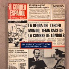 Libros de segunda mano: EL CORREO ESPAÑOL-EL PUEBLO VASCO: UN PERIÓDICO INSTITUCIÓN (1910-1985). ENRIQUE DE YBARRA.. Lote 179152960