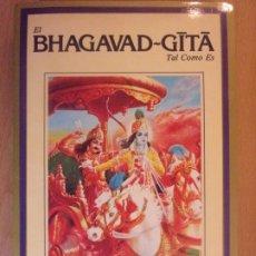 Libros de segunda mano: EL BHAGAVAD-GITA. TAL COMO ES. Lote 179153742