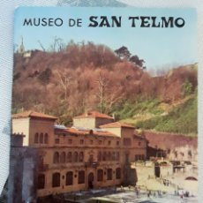 Libros de segunda mano: MUSEO DE SAN TELMO. SAN SEBASTIAN 1978. EN CASTELLANO, VASCO Y FRANCES. W. Lote 179183346