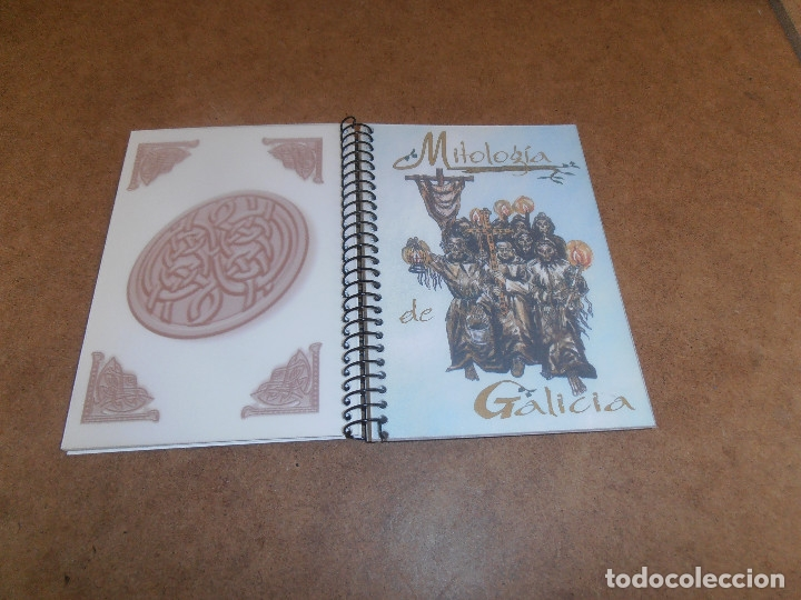 Libros de segunda mano: MITOLOGIA DE GALICIA - CUADERNOS UROGALLO - Foto 5 - 179193561