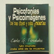Libros de segunda mano: PSICOFONIAS Y PSICOIMAGENES - TDK140. Lote 179200467